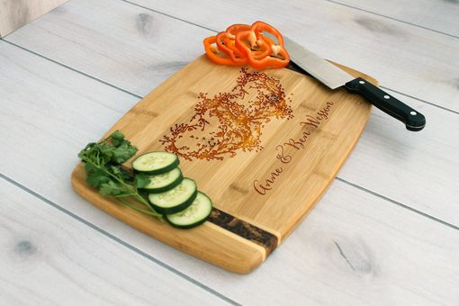 Custom Made Personalized Cutting Board, Engraved Cutting Board, Custom Wedding Gift – Cb-Bamm-Anne Ben Wessen