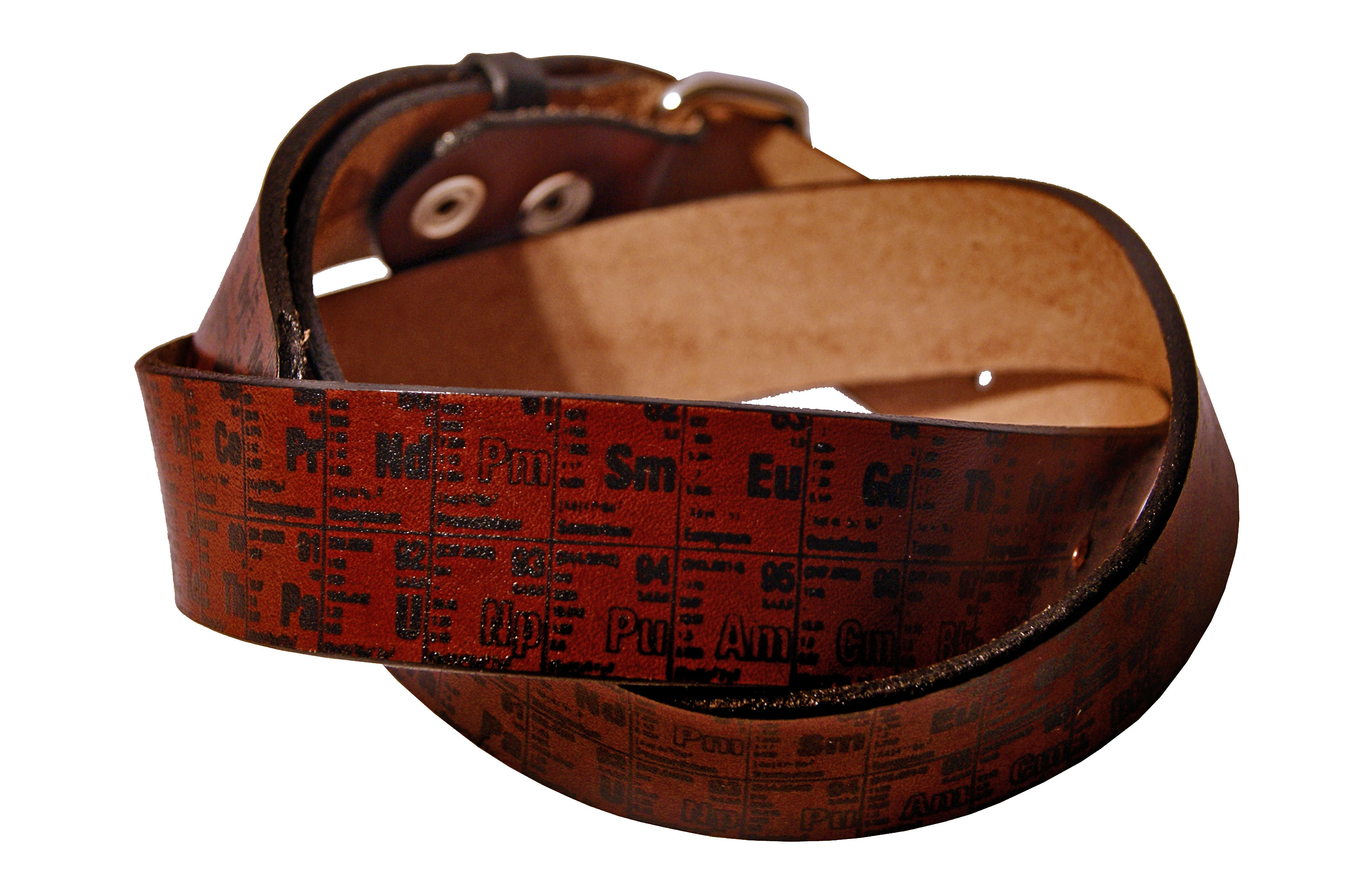 Buy a hand crafted periodic table of elements leather belt made buy a hand crafted periodic table of elements leather belt made to order from project transaction custommade gamestrikefo Image collections