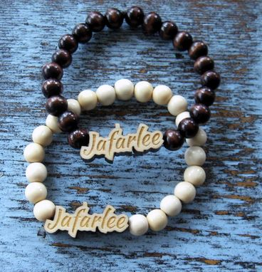 Custom Made A Wooden Bracelet  Entitled