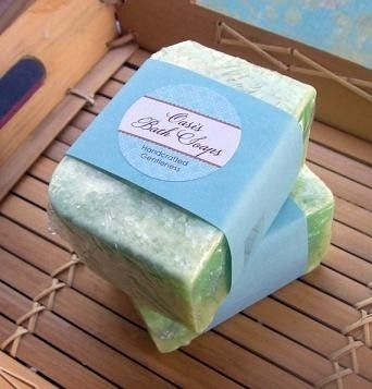 Custom Made Lime Coconut Soap