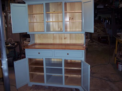 Custom Made Grand Shaker Hutch 82