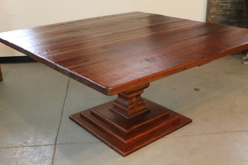 "Custom Made 72"" Square Dining Table"