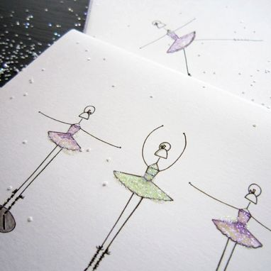 Custom Made Lena Ballerina Stationery Set