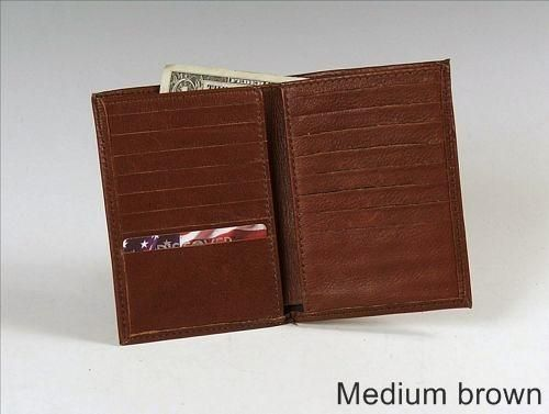 Custom Made French Card Wallet, Leather