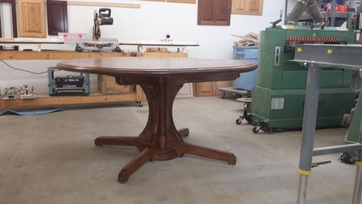 Custom Made Pecan Dining Table 60