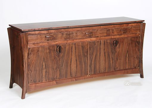 Custom Made Tusk Buffet,  Entertainment Center, Storage Cabinet