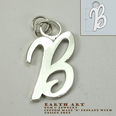 Custom Made Simple Initial Necklace
