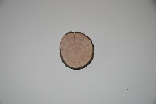 Custom Made Wooden Brooch Small Natural Unique