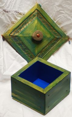 Custom Made Small Reclaimed Wooden Box