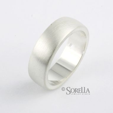 Custom Made Solid Sterling Silver Wedding Bands