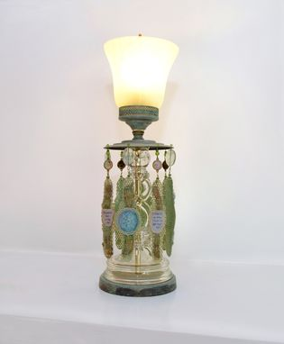 Custom Made Awakened Heart – Table Lamp Made From Vintage Fixture