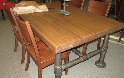 Custom Made Cabot Industrial Table