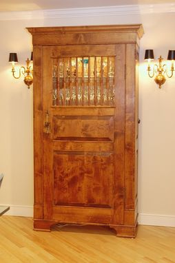 Custom Made China And Linen Armoire