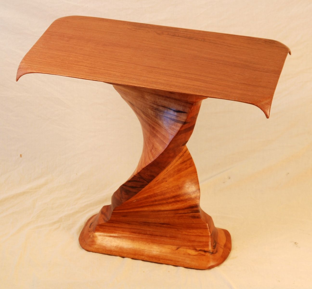 Custom Made Sapele And Mesquite Table By Mcnitt Bros Wood