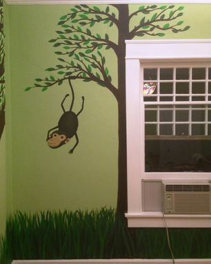 Custom Made Jungle-Themed Nursery