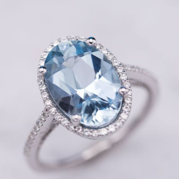 Gemstone Engagement Rings Non Diamond Engagement Rings