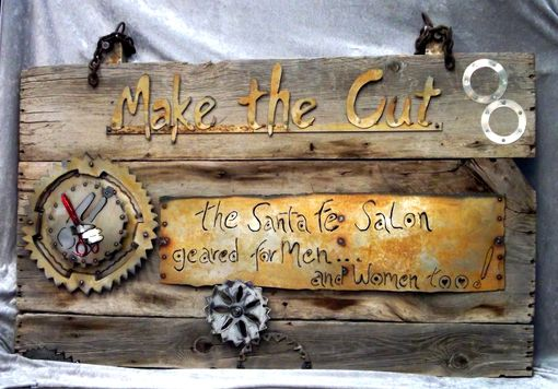 Custom Made Metal Sign Design, Wall Decor, Custom Signs, Recycled Art