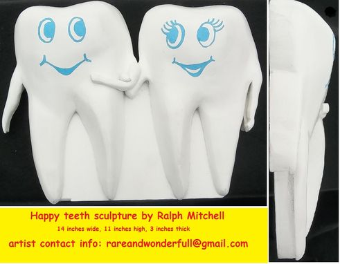 Custom Made Happy Teeth Sculpture