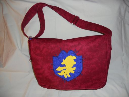 Custom Made Cutie Mark Crusader Messenger Bag