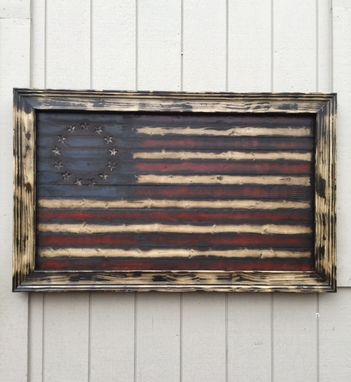 "Custom Made Betsy's ""Colonial Freedom"" American Flag"
