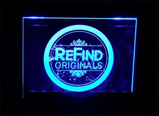 Custom Made Led Lighted Acrylic Signs And Photo Sculptures