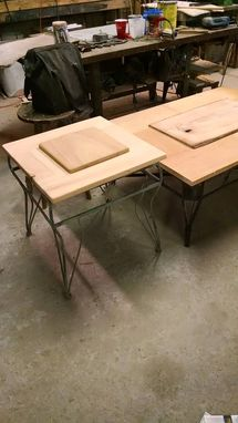 Custom Made Custom Made Cypress Top Raised Panel Tables