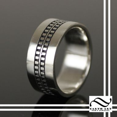 Custom Made Extra Wide Mens Ring