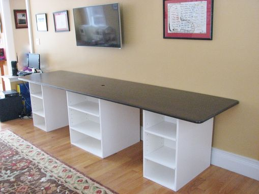 Custom Made Entertainment Center/Work Station