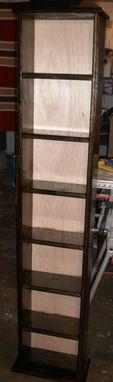 Custom Made Dvd Shelves