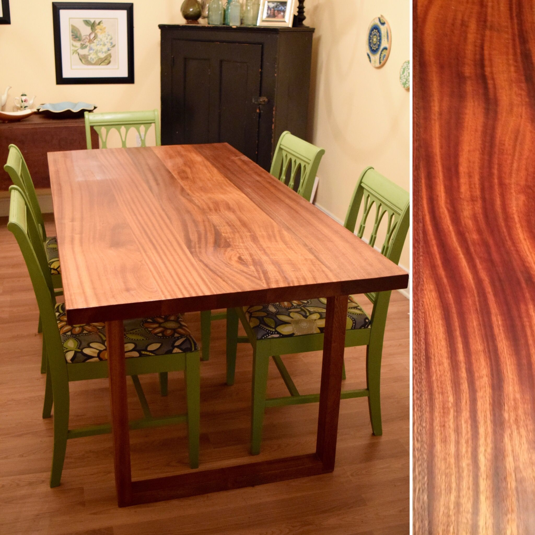 Buy a Hand Made Mid-Century Mahogany Dining Table, made to ...