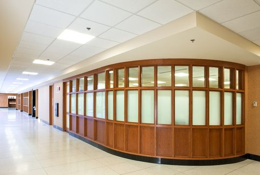 Custom Made Private School Radius Walls