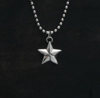 Custom Made Lucky Charm Superstar In Sterling Silver.