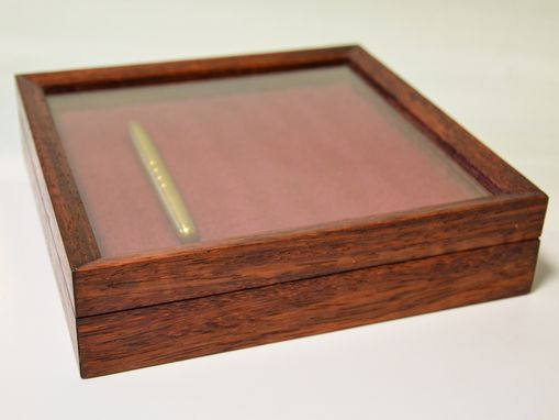 Custom Made Rosewood Pen Box