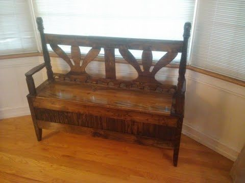 Custom Made Classic Style Entry Bench