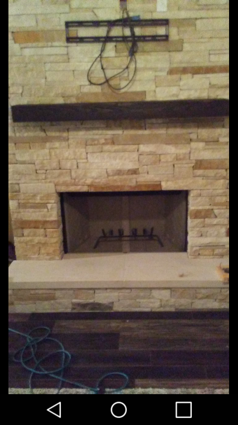 Hand Crafted 200 Year Old Fireplace Mantels By Bear Creek