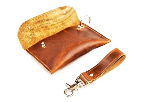 Custom Made Carry-All Wallet With Detachable Strap