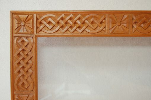 Custom Made Celtic Picture Frame