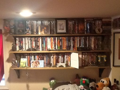 Custom Made Dvd Shelf