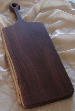 Custom Made Black Walnut Bread Board
