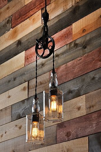 ed564d5902f6 Buy a Handmade The Warehouser - Rustic Farmhouse Pendant Chandelier ...