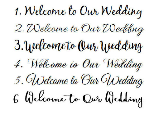 Custom Made Garden Wedding Welcome Sign, Wooden Wedding Signage