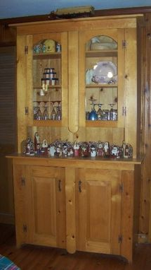 Custom Made China Cabinet Dining Room Cabinet