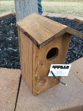 Custom Made Reclaimed Birdhouse