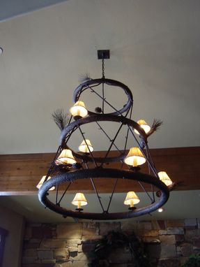 Custom Made Mountain Style Chandalier
