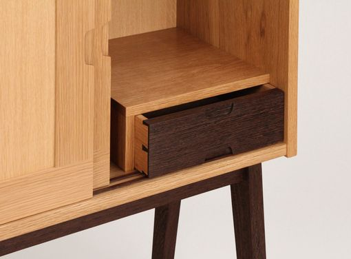 Custom Made Kvadrat Liquor Cabinet