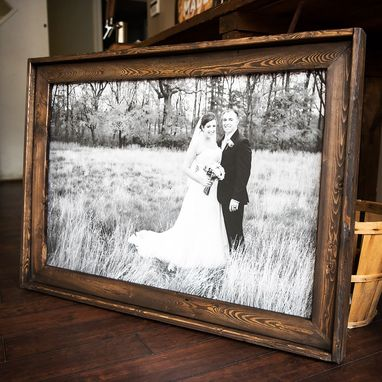 Custom Made Beautiful Custom Handmade Wooden Frame