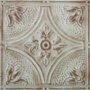 Custom Pressed Tin Faux Painted Ceiling By Chelsea