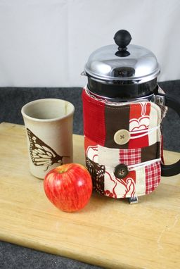 Custom Made French Press Coffee Cosie
