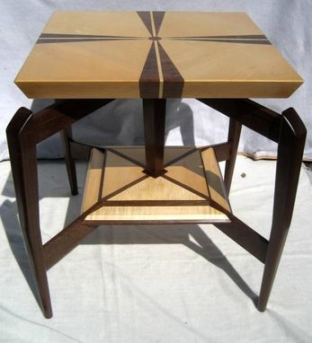 Custom Made Floating Top Side Table