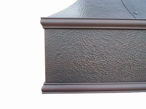 Custom Made Ironsmith Copper Range Hood 36""